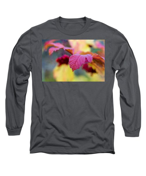 Arrowwood Leaf - Featured 3 Long Sleeve T-Shirt