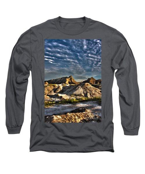 Badlands National Park Sunset Long Sleeve T-Shirt