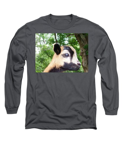 Long Sleeve T-Shirt featuring the photograph Bambi by Belinda Lee