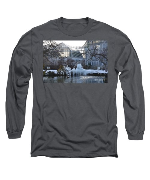 Belle Isle Conservatory Pond 2 Long Sleeve T-Shirt