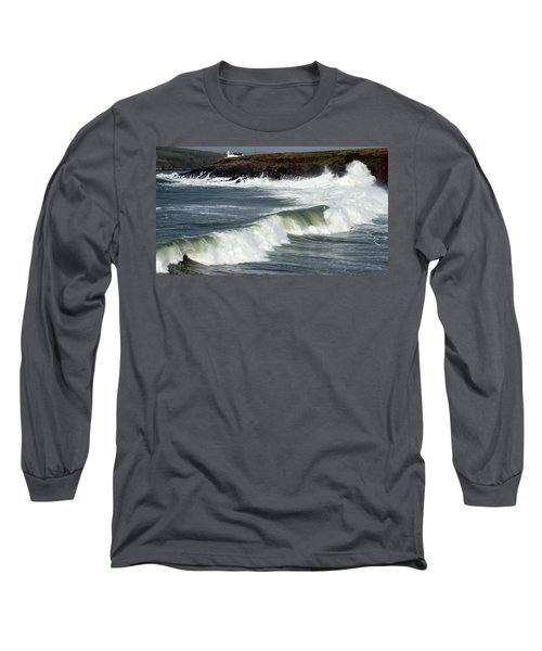 Big Swell Long Sleeve T-Shirt by Barbara Walsh