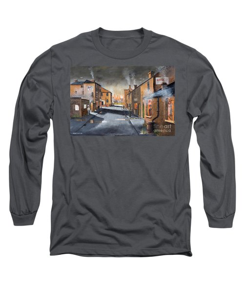 Black Country Village From The Boat Yard Long Sleeve T-Shirt