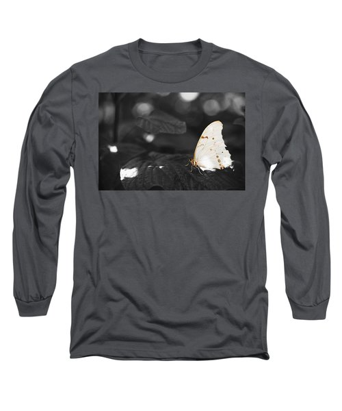 Butterfly Long Sleeve T-Shirt by Bradley R Youngberg