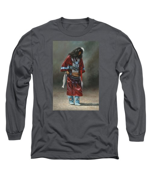 Ceremonial Red Long Sleeve T-Shirt