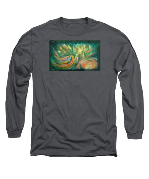 Conception Long Sleeve T-Shirt by Becky Chappell