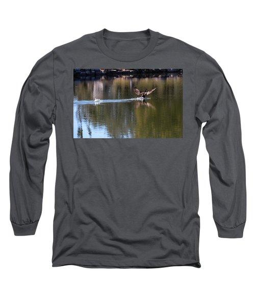 Cormorant Landing Long Sleeve T-Shirt