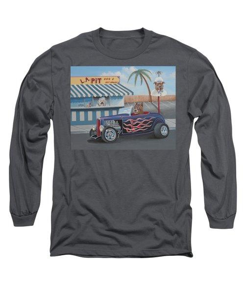 Cruizin' At Da L.a. Pit Long Sleeve T-Shirt