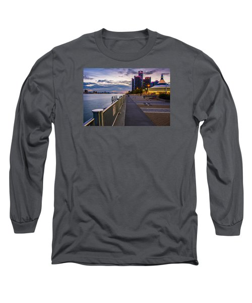Detroit River Walk Long Sleeve T-Shirt