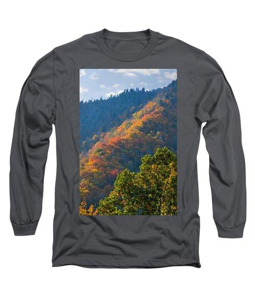 Fall Smoky Mountains Long Sleeve T-Shirt