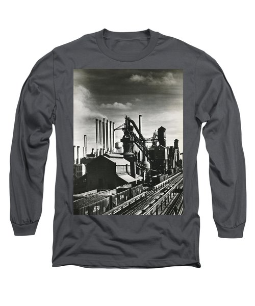 Ford's River Rouge Plant Long Sleeve T-Shirt