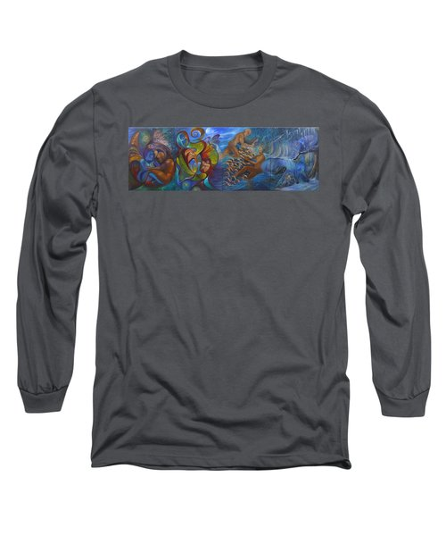 Four Seasons Long Sleeve T-Shirt by Claudia Goodell