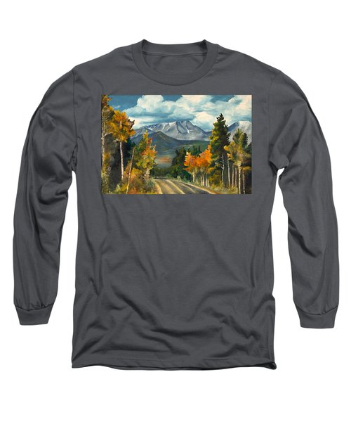 Gayle's Highway Long Sleeve T-Shirt by Mary Ellen Anderson