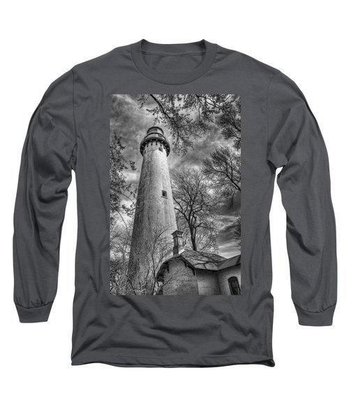 Grosse Point Lighthouse Long Sleeve T-Shirt