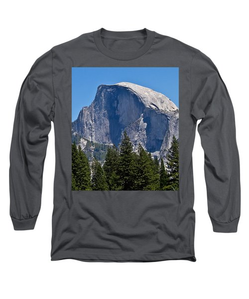 Long Sleeve T-Shirt featuring the photograph Half Dome by Brian Williamson
