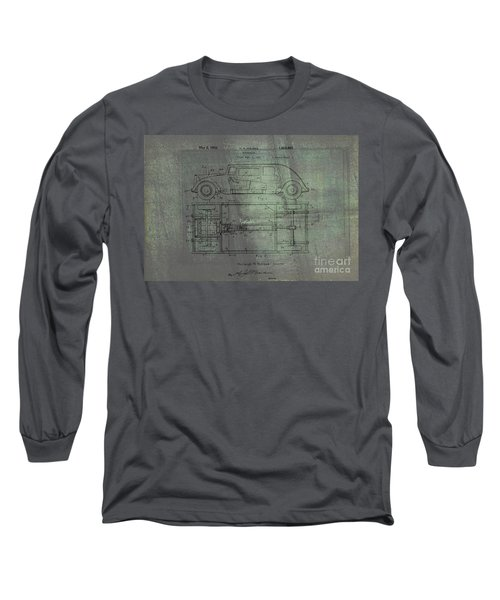 Harleigh Holmes Automobile Patent From 1932 Long Sleeve T-Shirt