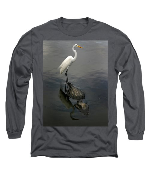 Hitch Hiker Long Sleeve T-Shirt by Anthony Jones
