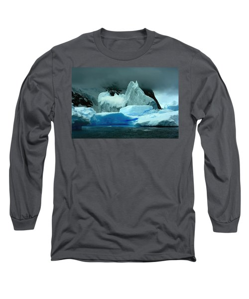 Long Sleeve T-Shirt featuring the photograph Iceberg by Amanda Stadther