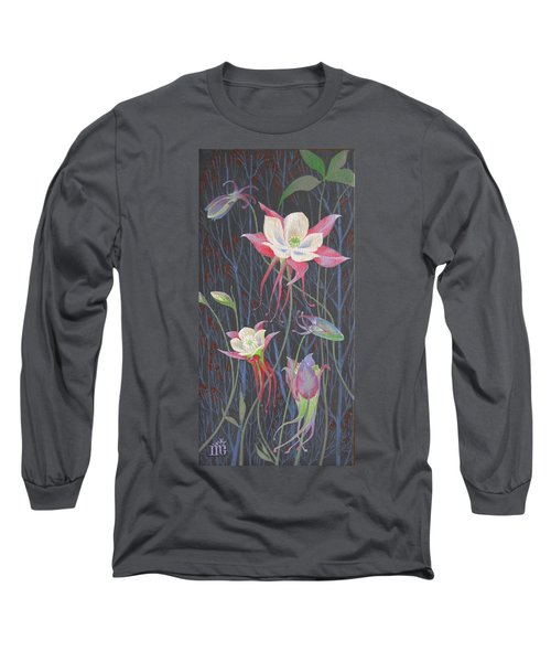 Japanese Flowers Long Sleeve T-Shirt