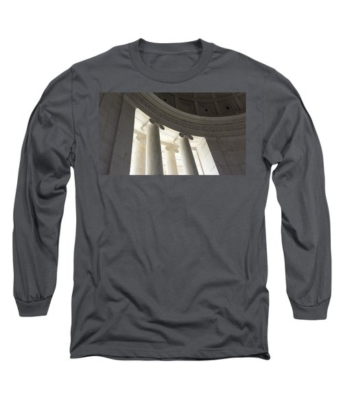 Jefferson Memorial Architecture Long Sleeve T-Shirt