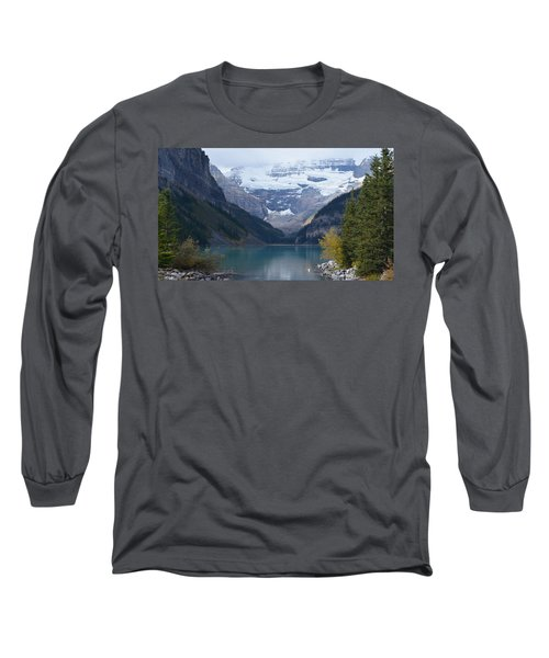 Lake Louise In Fall Long Sleeve T-Shirt