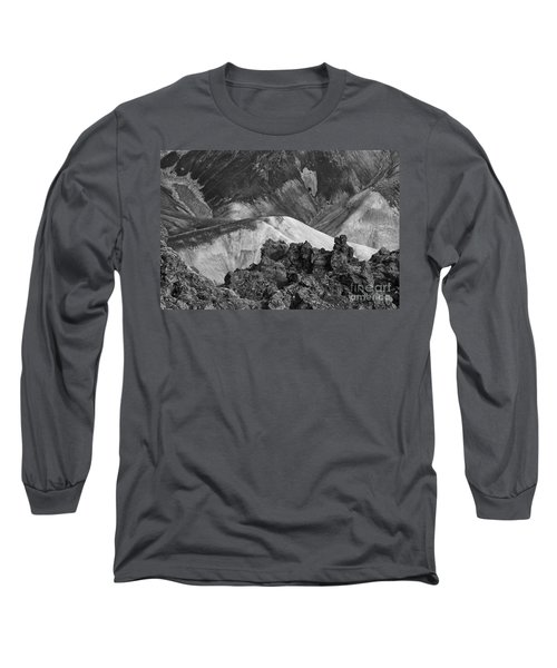 Landmannalaugar Iceland 4 Long Sleeve T-Shirt by Rudi Prott