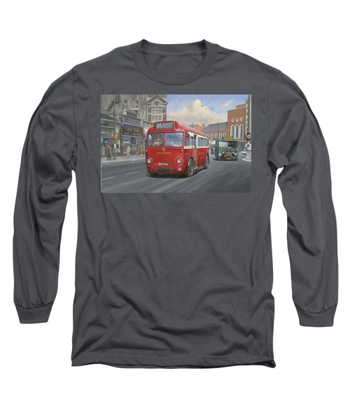 London Transport Q Type. Long Sleeve T-Shirt by Mike  Jeffries
