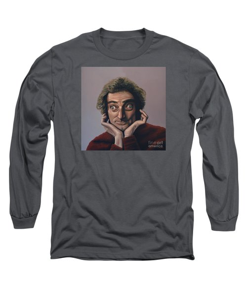 Marty Feldman Long Sleeve T-Shirt by Paul Meijering