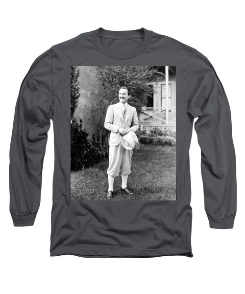 Men's Fashion, C1925 Long Sleeve T-Shirt by Granger