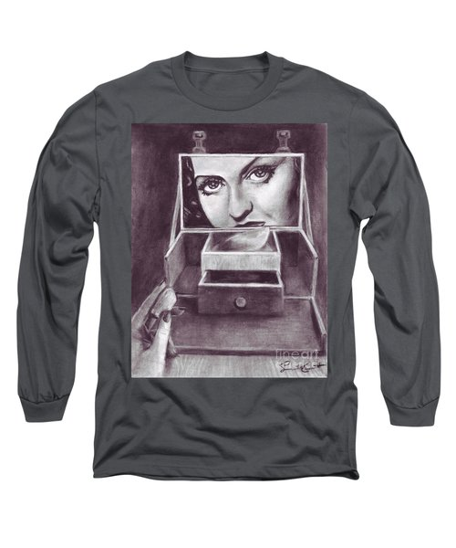 1 Minute Miss Davis Long Sleeve T-Shirt by Samantha Geernaert