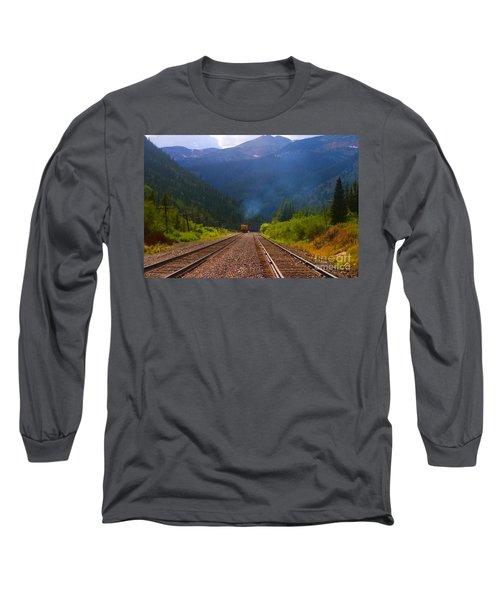 Misty Mountain Train Long Sleeve T-Shirt