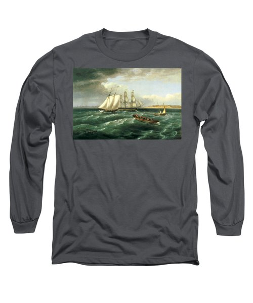 Mouth Of The Delaware Long Sleeve T-Shirt