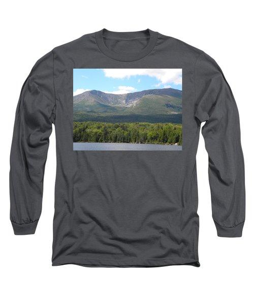 Mt. Katahdin Long Sleeve T-Shirt by James Petersen