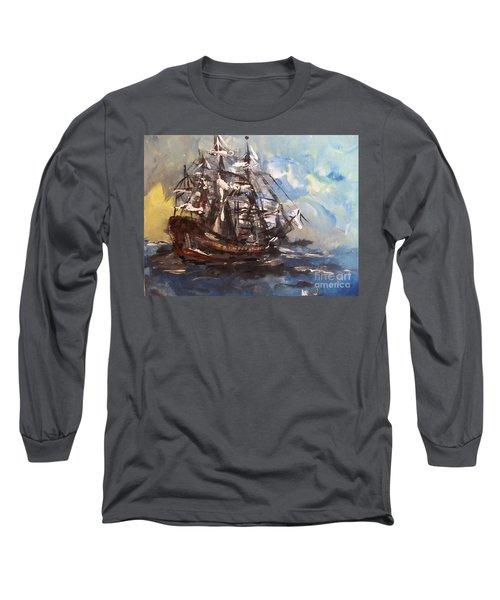 My Ship Long Sleeve T-Shirt