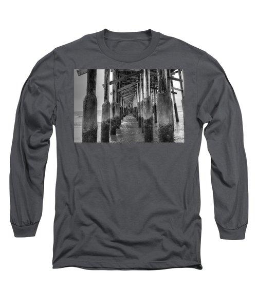 Newport Beach Pier Long Sleeve T-Shirt
