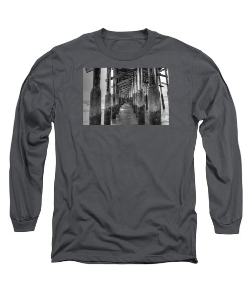 Newport Beach Pier Long Sleeve T-Shirt