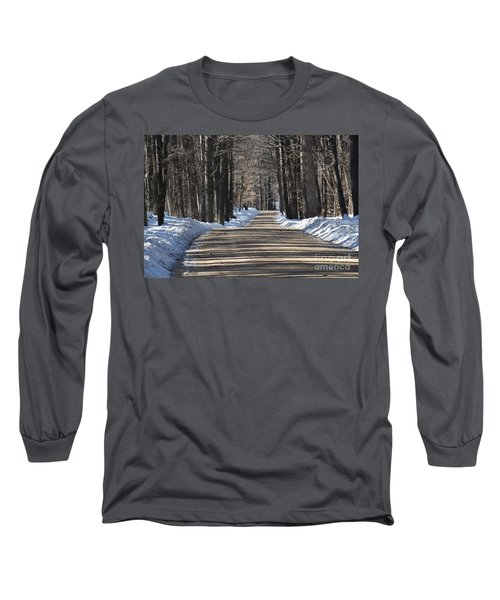 Nh Back Roads Long Sleeve T-Shirt