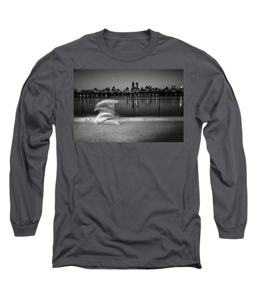 Night Jogger Central Park Long Sleeve T-Shirt