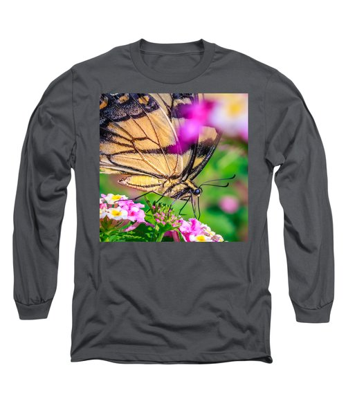 Long Sleeve T-Shirt featuring the photograph Papilio Glaucus by Rob Sellers