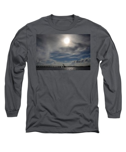 Long Sleeve T-Shirt featuring the photograph Pass Manchac by Charlotte Schafer