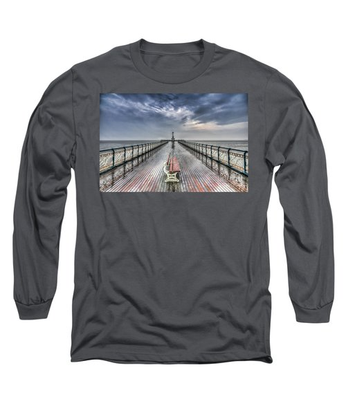 Penarth Pier 4 Long Sleeve T-Shirt