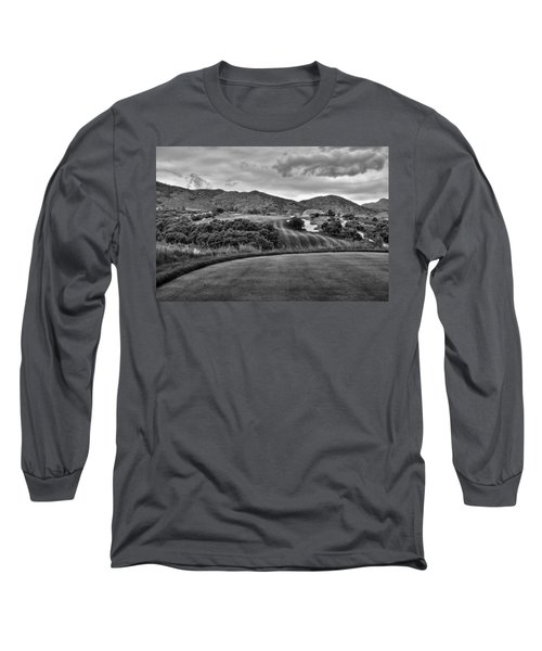 Long Sleeve T-Shirt featuring the photograph Ravenna Golf Course by Ron White