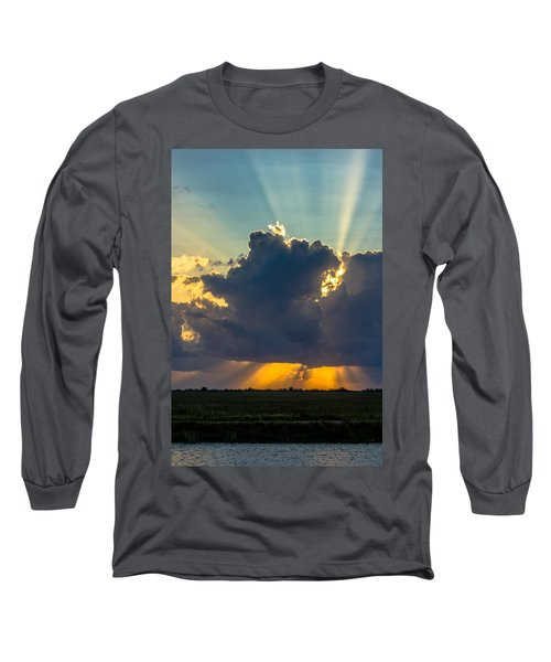 Rays From The Clouds Long Sleeve T-Shirt