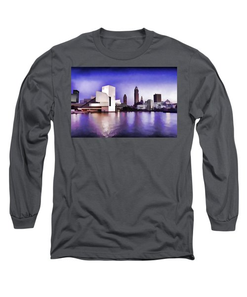 Rock And Roll Hall Of Fame - Cleveland Ohio - 3 Long Sleeve T-Shirt