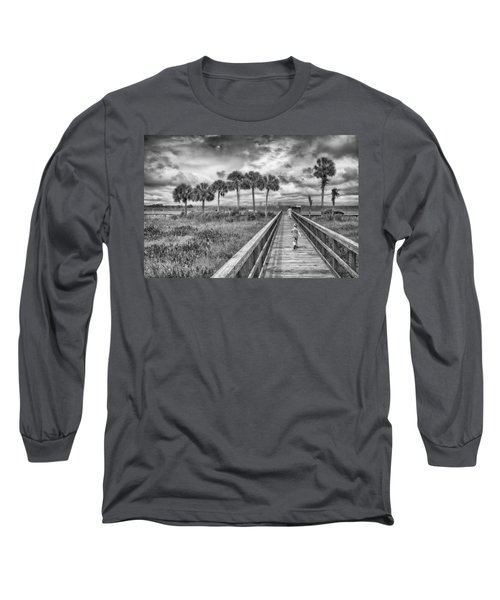 Running Long Sleeve T-Shirt by Howard Salmon