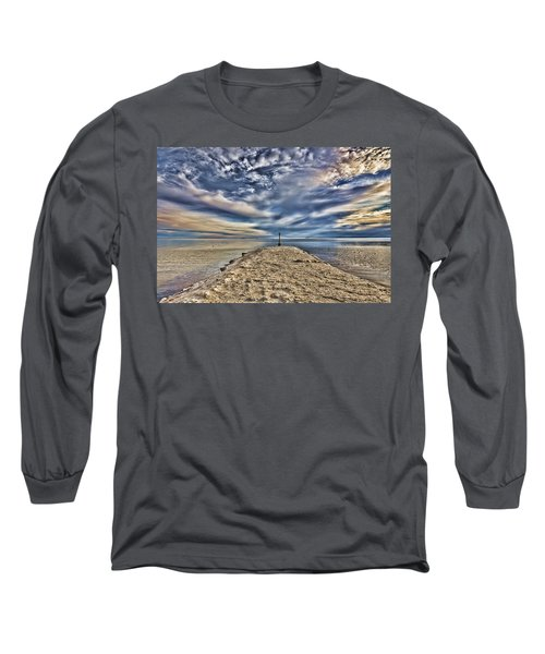 Salt Pier Salton Sea Long Sleeve T-Shirt