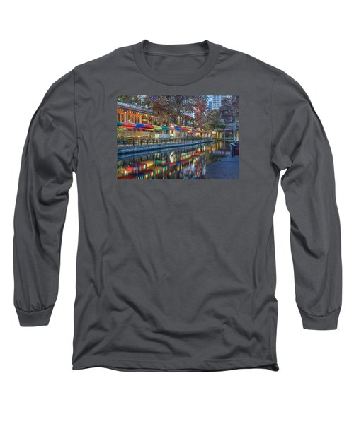 San Antonio Riverwalk Long Sleeve T-Shirt