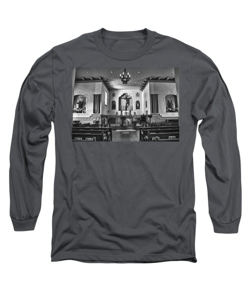 Long Sleeve T-Shirt featuring the photograph San Carlos Cathedral by Ron White