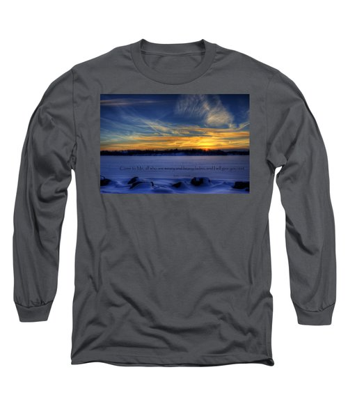Scripture Photo Long Sleeve T-Shirt