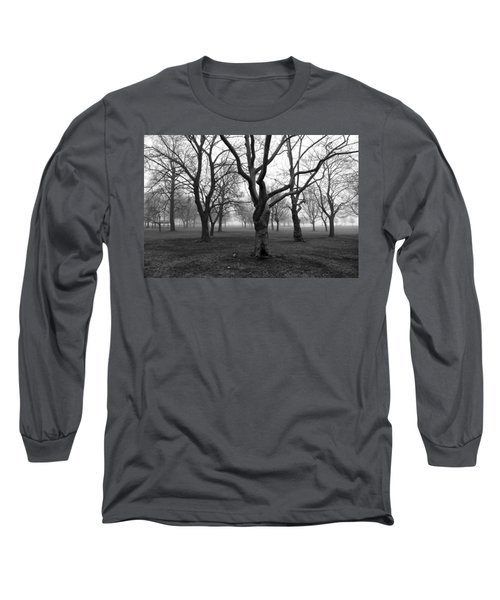 Seaside By The Tree Long Sleeve T-Shirt
