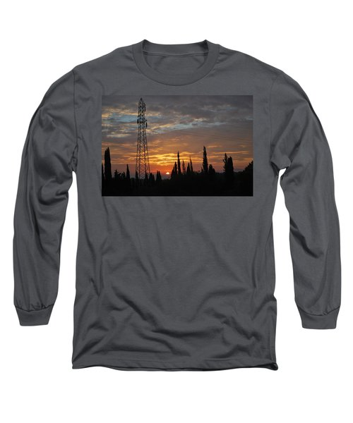 sunrise in Corfu 2 Long Sleeve T-Shirt